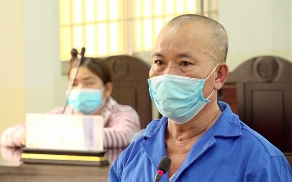 出庭受審的被告人林文祥。(圖源:VOV)