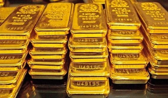 國內金價每兩突破 5700 萬元。(示意圖源:互聯網)