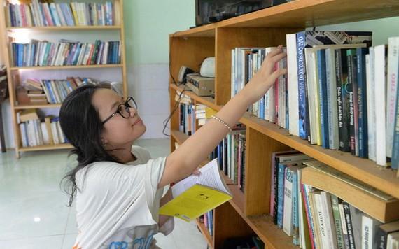 本市一名六年級學生申氏清翠告知,她在今年暑期閱讀自己喜歡的書籍。