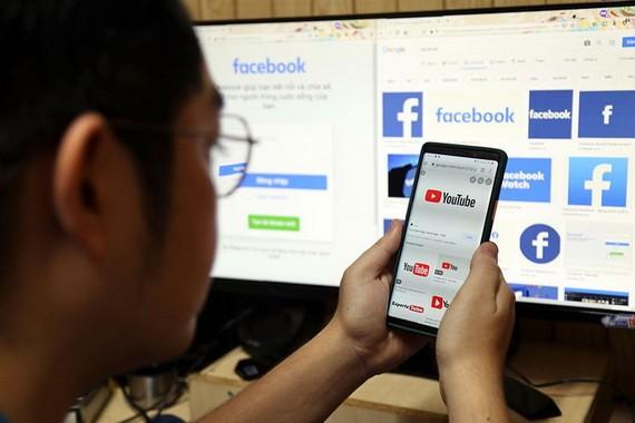 本市使用社交網用戶。