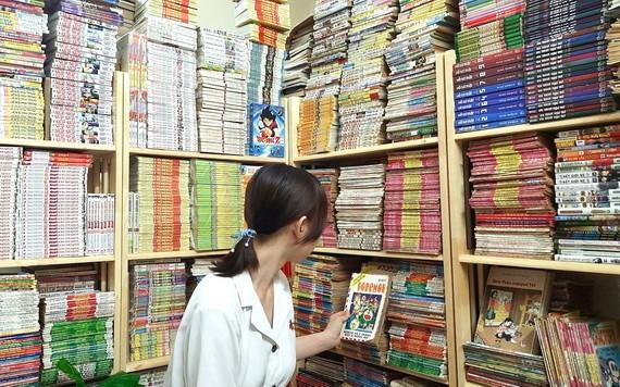 收集上世紀90年代漫畫成為不少年輕人的愛好。