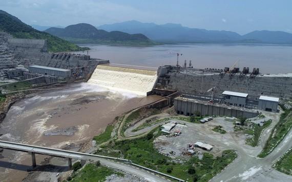 埃塞俄比亞復興大壩。(圖源:AP)