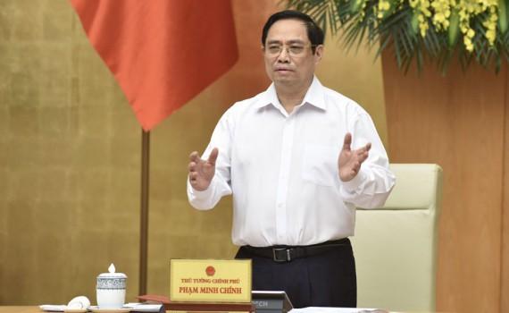 黨中央政治局委員、政府總理范明政。(圖源:越通社)