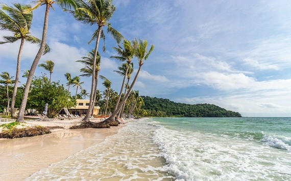 富國島美麗海灘一景。(圖源:Shutterstock)