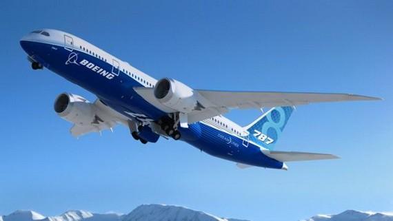 一架波音787夢想客機正在起飛。(圖源:互聯網)