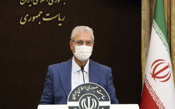 伊朗政府發言人拉比埃7月13日稱,伊朗正在和美國就交換在押人員進行談判。 (圖源:AP)
