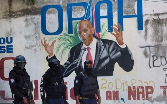 莫伊茲遭暗殺後,海地全國進入戒嚴狀態。(圖源:互聯網)