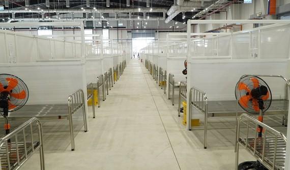 平阳省增设规模达1500张床的野战医院。(图源:VnE)