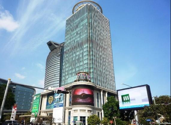 聳立於金邊城市中心的柬埔寨銀行。(圖源:互聯網)