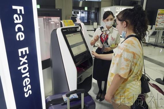"""日本兩國際航線啟用""""刷臉""""登機系統"""