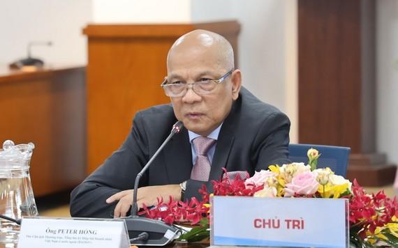 BAOOV 常務副主席兼秘書長皮特洪。(圖源:雲英)
