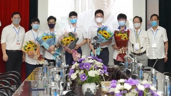 越南學生在國際奧林匹克競賽獲佳績