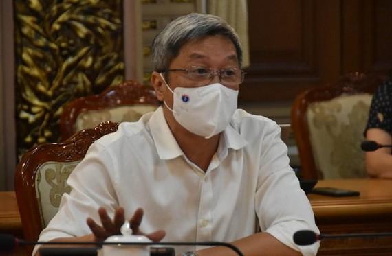 衛生部副部長阮長山。(圖源:成安)
