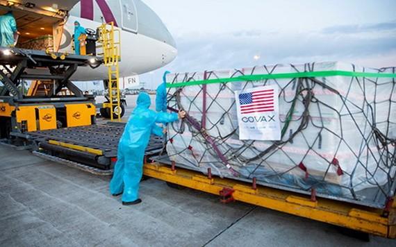近150萬劑莫德納疫苗24日抵達本市新山一機場。(圖源:TL)