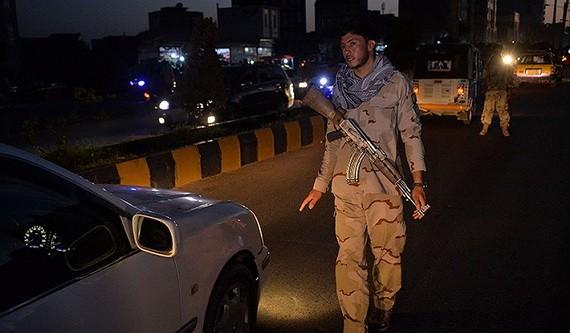 2021年7月24日,阿富汗赫拉特,當地實施宵禁。 (圖源:AFP)