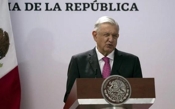 墨西哥總統洛佩斯。(圖源:AP)