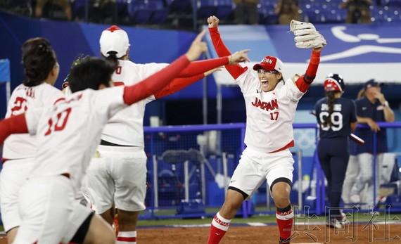 日本壘球隊繼北京奧運會後再次奪冠
