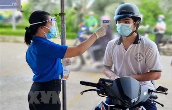 共青團員積極參與本市抗疫工作。(圖源:越通社)
