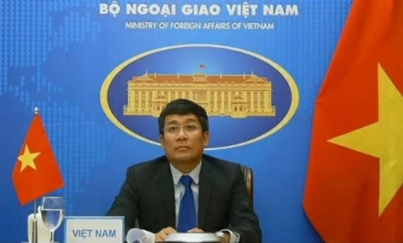 外交部副部長阮明宇。(圖源:明孝)