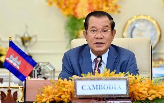 柬埔寨首相洪森。(圖源:VOV)