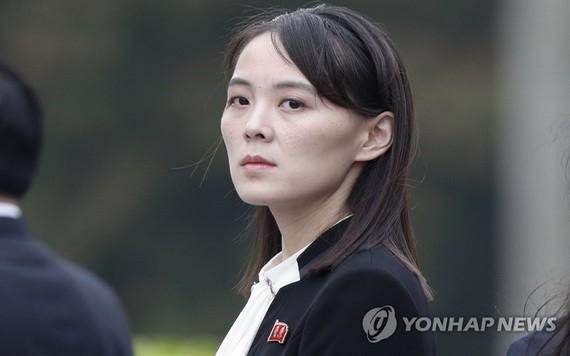 朝鮮勞動黨副部長金與正。(圖源:韓聯社)