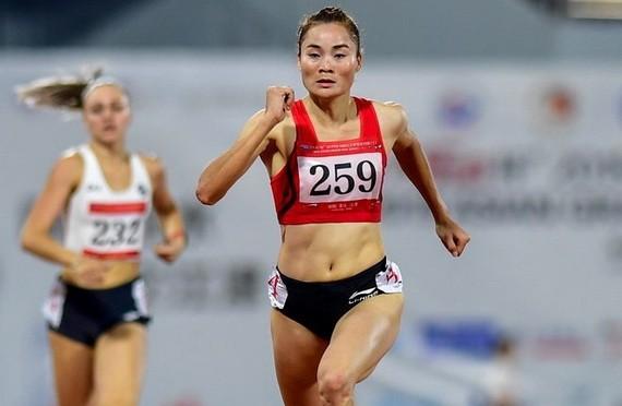 郭氏蘭最佳成績是進入田徑女子 400 米跨欄半決賽。(圖源: 互聯網)