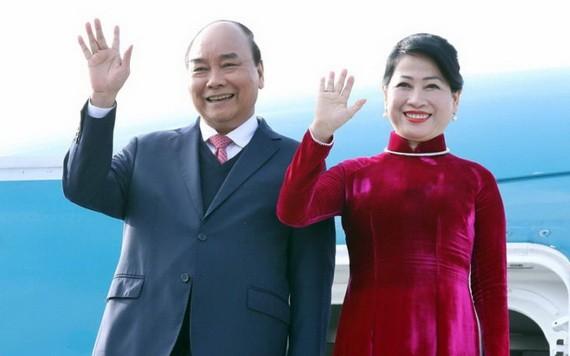 國家主席阮春福偕夫人將於本月9日對老撾進行正式友好訪問。(圖源:越通社)