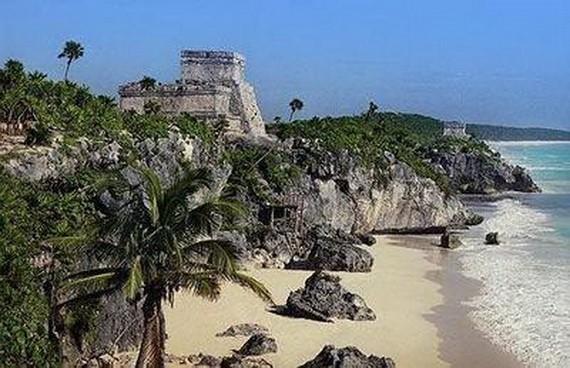 圖倫古城是瑪雅文化後期的重要遺址。