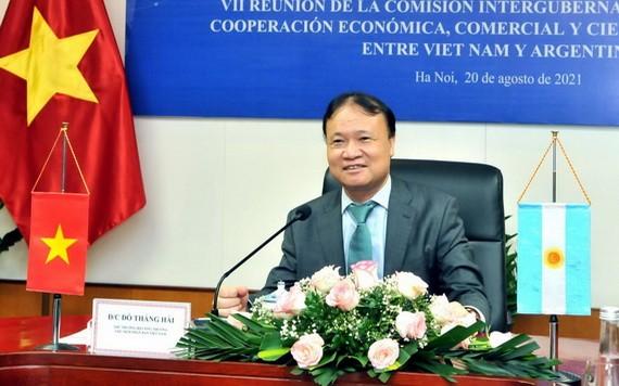 工商部副部長杜勝海。(圖源:工商部)