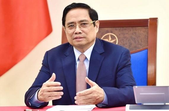 政府總理范明政。(圖源: 日北)
