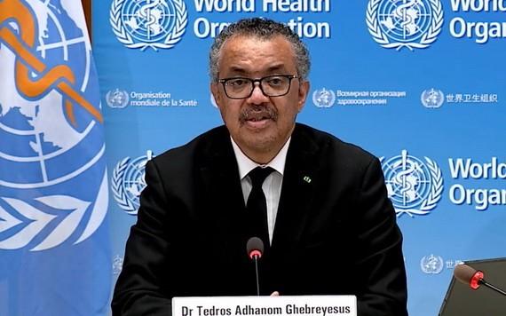 世衛組織總幹事譚德塞。(圖源: 互聯網)