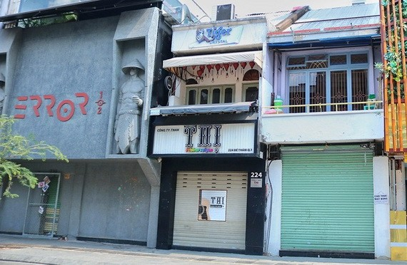 本市第四波疫情爆發以來,所有經營戶關門停業。(圖源:PV)