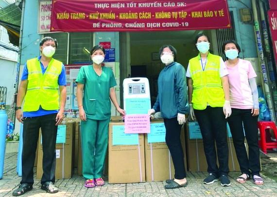 培德精舍捐贈地方 10 台醫療呼吸機