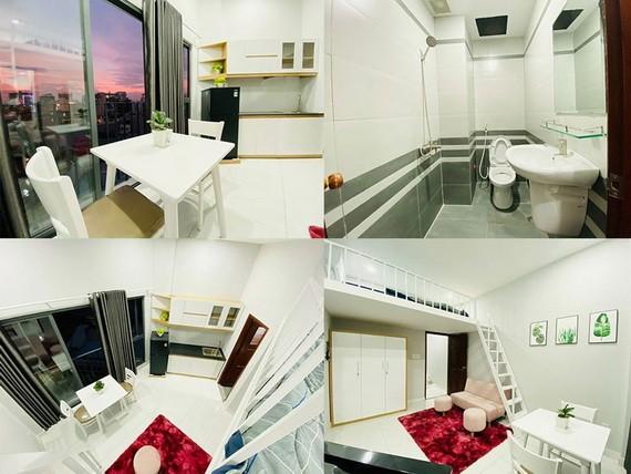 阮黃英秀向防疫一線力量免費提供設備齊全的客房。