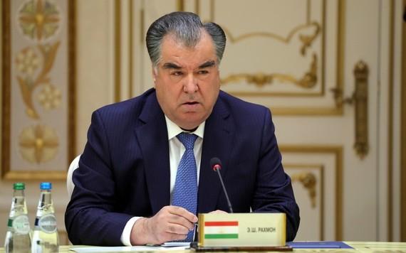 塔吉克斯坦共和國總統埃莫馬利‧拉赫蒙。(圖源:Wiki)