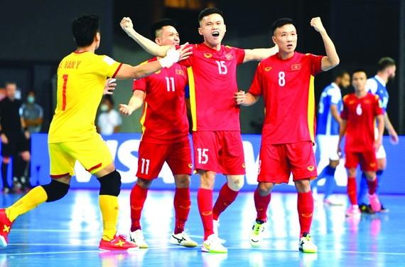 室內五人制國足晉級世界盃 16 強