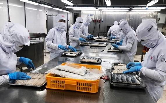 中山食品股份公司的食品加工廠於 8月21日復工復產,但產能比疫情前大幅下降了九成。(圖源:安芳)
