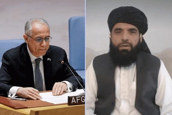 阿塔希望以沙欣(右)替換現駐聯合國代表伊薩克扎伊(左)。(圖源: 互聯網)