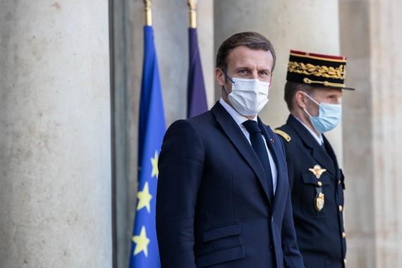 法國總統馬克龍。(圖源:新華社)