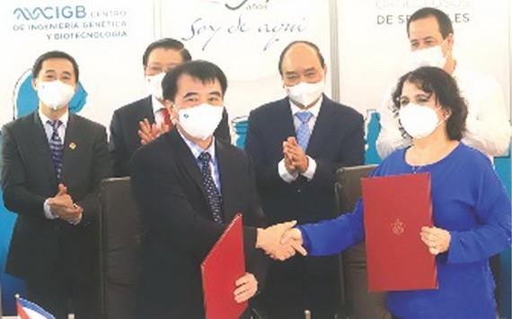 越南此前向古巴購買500萬劑阿布達拉疫苗。(圖源: VNN)