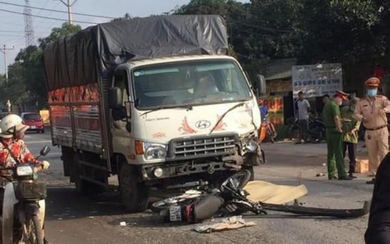 一起交通事故現場。(圖源:TTO)