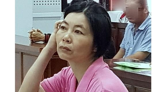 Bị cáo Hiền tại phiên tòa