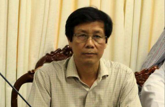Ông Cao Minh Chu, Giám đốc Sở Y tế TP Cần Thơ vừa bị đình chỉ công tác để phục vụ điều tra