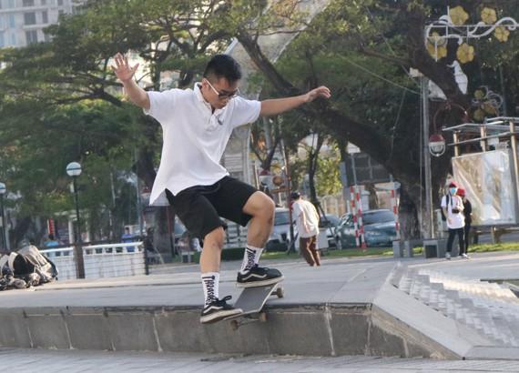 Skateboard, sân chơi hấp dẫn cho bạn trẻ Đà Nẵng