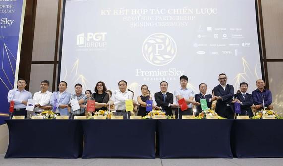 PGT Group ký kết hợp tác chiến lược với các đối tác