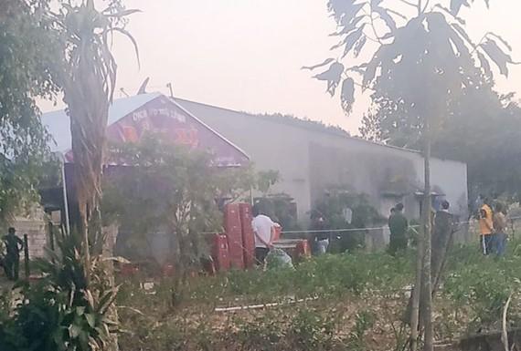 Căn nhà xảy ra vụ việc