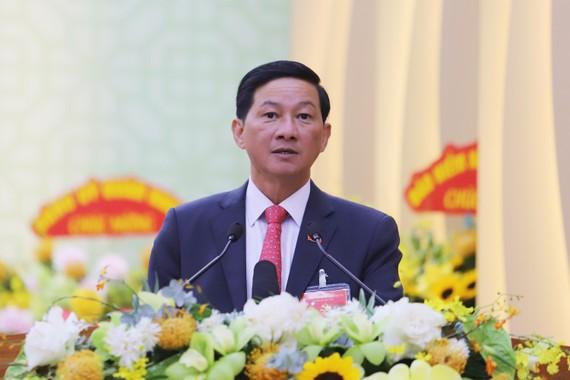 Đồng chí Trần Đức Quận, Bí thư Tỉnh ủy Lâm Đồng nhiệm kỳ 2020-2025. Ảnh: ĐOÀN KIÊN