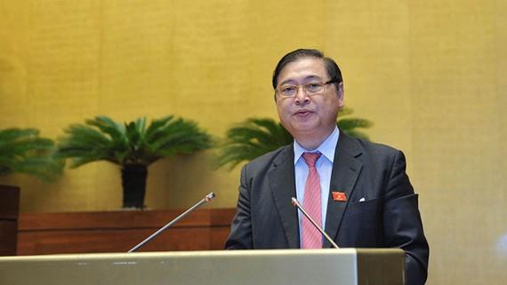 Chủ nhiệm Ủy ban Khoa học, công nghệ và môi trường của Quốc hội Phan Xuân Dũng