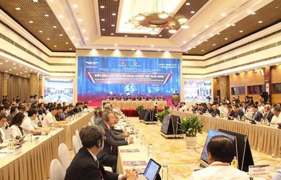 Diễn đàn cấp cao về năng lượng Việt Nam 2020 tổ chức sáng 22-7 tại Hà Nội