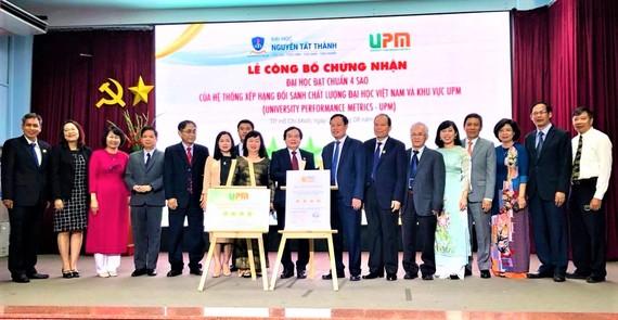 Trường ĐH Nguyễn Tất Thành đạt chuẩn 4 sao của UPM